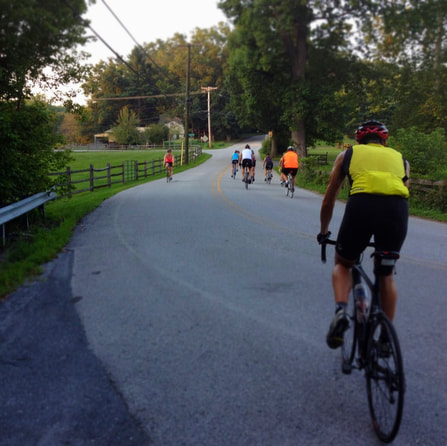 Outdoor Cycling class maryland